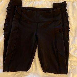 Lululemon fast and free legging, size 4